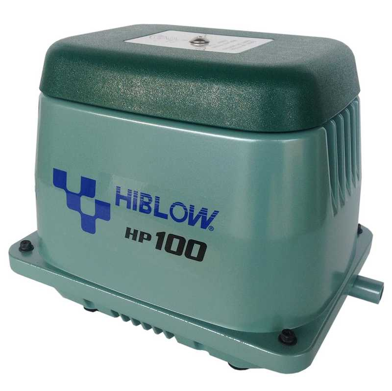 HIBLOW HP-100 Membraninė orapūtė