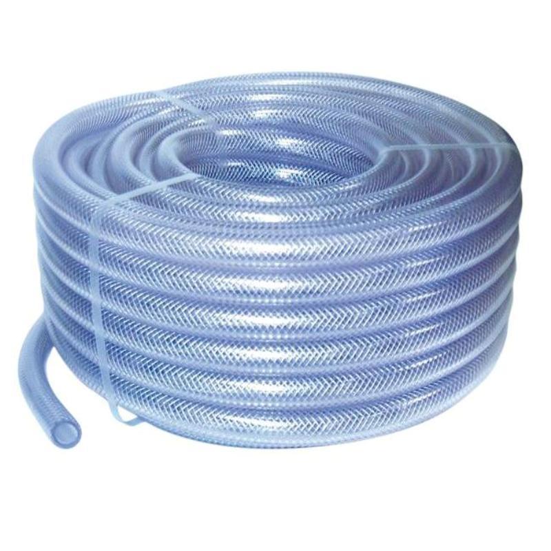 PVC žarna su tekstiliniu kordu 10x15 mm
