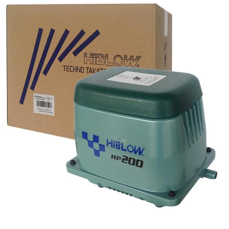 HIBLOW HP-200 Membraninė orapūtė