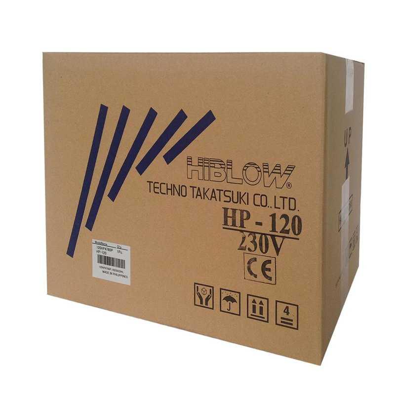 HIBLOW HP-120 Membraninė orapūtė