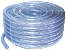 PVC Žarna su tekstiliniu kordu 19x26 mm